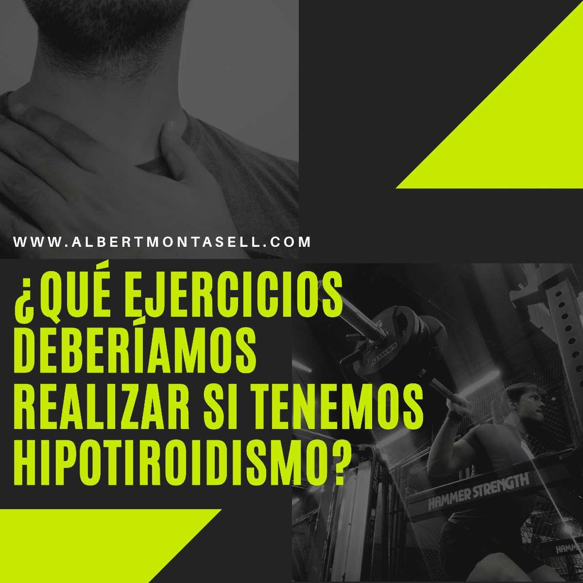 ejercicios para el hipotiroidismo