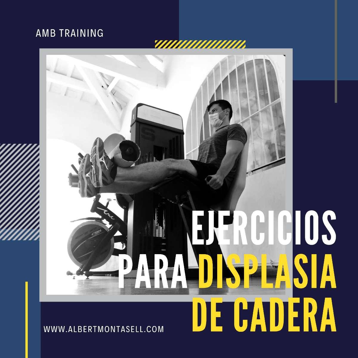 ejercicios para displasia de cadera